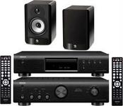 Denon DCD-520 + PMA-520 + Boston Acoustics A25