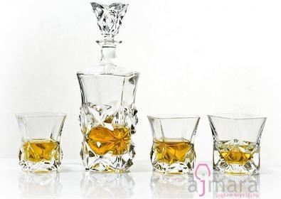 Bohemia Zestaw do whisky Pyramid Jihlava