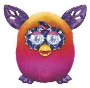 Hasbro Furby Boom Sweet Zabawka interaktywna Orange&Pink Ombre
