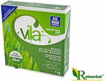 Yara Vila nawóz do trawników szybki wzrost 1kg