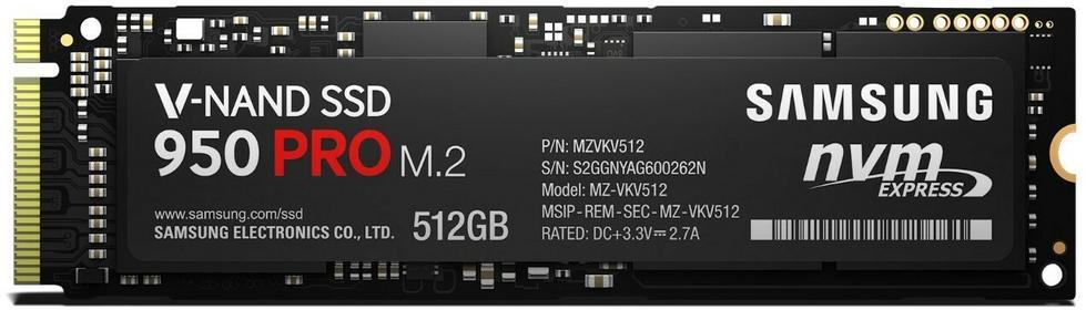 Samsung 950 Pro MZ-V5P512BW