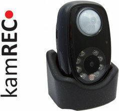 Kamrec Kamera z czujnikiem ruchu tryb dzień-noc-podczerwień q2