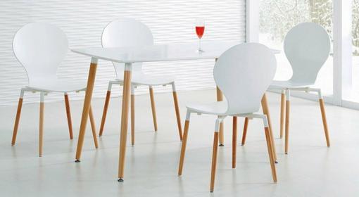 Halmar Zestaw Socrates stół + 4 krzesła K164