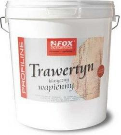 Fox Dekorator Tynk wapienny - - Trawertyn Drobnoziarnisty 25kg Fox_trawertyn_dr