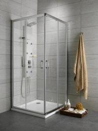 Radaway Premium Plus C 100x80 szkło przejrzyste