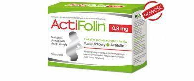 Sequoia ACTIFOLIN kwas foliowy 0,8 mg 30 szt.