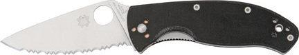 Spyderco Tenacious Spyder Edge(ostrze ząbkowane) (C122GS)
