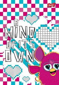 Brulion A5 Furby w kratkę 96 kartek A mind of its own-