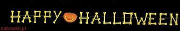 Sezamik Dekoracja Halloween Girlanda 5180H