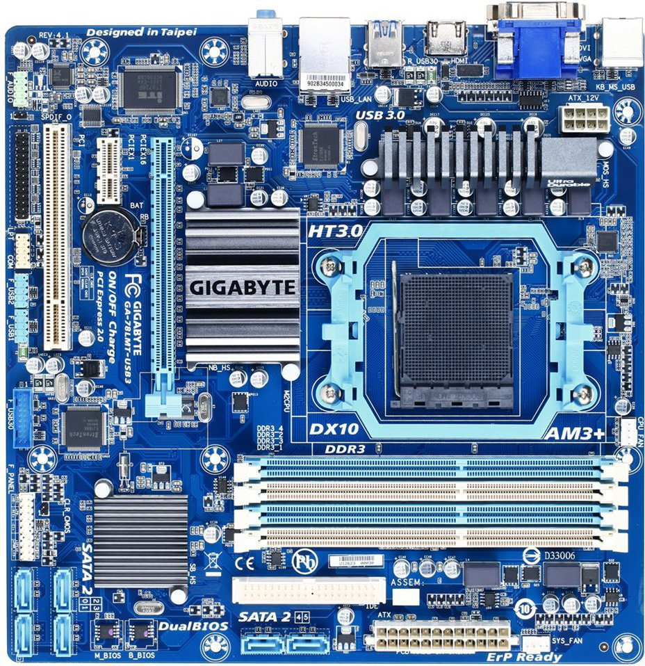Gigabyte GA-78LMT-USB3
