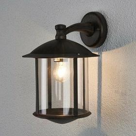 Lampenwelt Maelis - zewnętrzna Lampa ścienna w kolorze rdzy