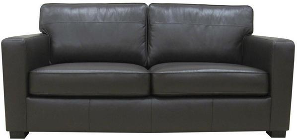 Kioto Sofa skórzana 2 osobowa - czarna