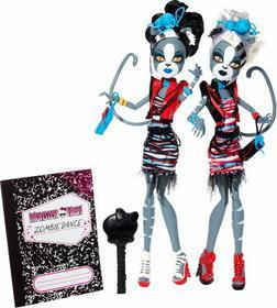 Mattel Monster High - Zombie Shake Meowlody & Purrsephone BJR16
