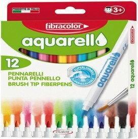 FIBRA COLOR Flamastry Fibracolor Aquarell 12 kolorów 8008621016877
