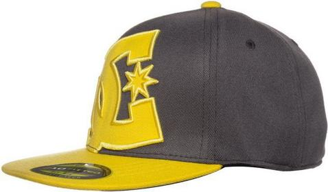 DC Shoes YA HEARD 2 Czapka z daszkiem dark shadow/yellow 75300013