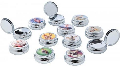 Kare design Popielniczka Kieszonkowa Pin Up Girls VIII 36051h