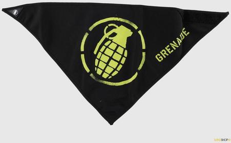 Grenade szalik męski Stenz half-dana,black