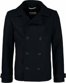 Pier One Płaszcz wełniany /Płaszcz klasyczny niebieski PI922L001-K11