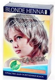 Fitocosmetic Henna rozjaśniacz na włosy Baleyage FIT