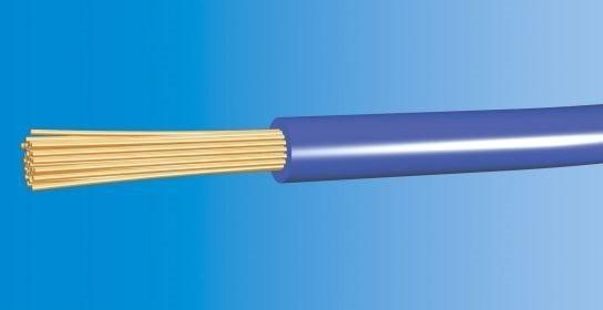 Telefonika Kable Przewód LgY 16mm2 450/750V H07V-K NIEBIESKI LGY16NIE