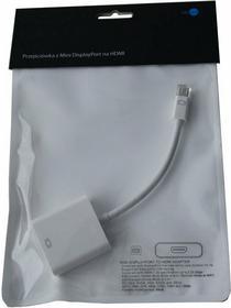 bludot Przejściówka z Mini DisplayPort na HDMI HSMDP01