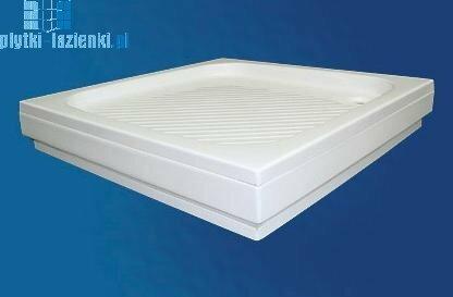 Polimat Obudowa do brodzika kwadratowego 90x90x5 00411