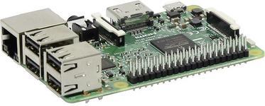 Raspberry PI Komputer 3 Model B ARM Cortex-A53 4x 1.2 GHz) 1 GB Dual Core VideoCore IV WiFi Bluetooth LAN USB 2.0 HDMI