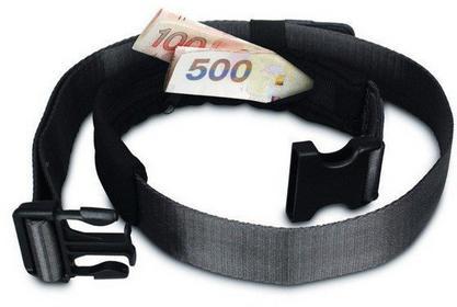 Pacsafe Pasek ze schowkiem na pieniądze i telefon CashSafe 25