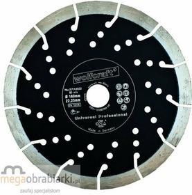 WOLFCRAFT tarcza tnąca diamentowa PROFI 350 mm