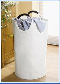 Wenko Biały kosz na pranie JUMBO, 69 litrów 06228