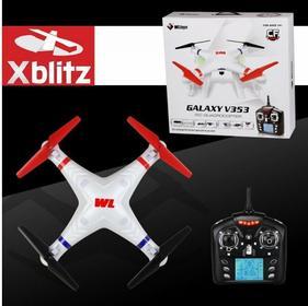 XBLITZ GALAXY V353 QUADROCOPTER + KAMERA + KARTA MICROSD 2GB - DRON ZDALNIE STER