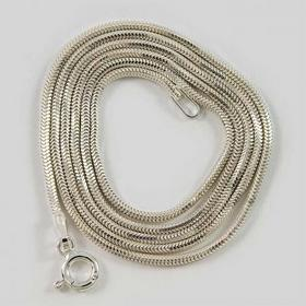 Łańcuszek srebrny linka Ł19/0 60cm 4.0g (Ł19/0 60cm 4.0g)