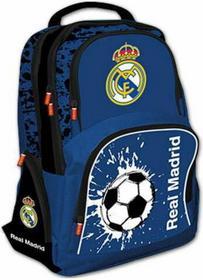 St. Majewski Plecak szkolny Real Madryt niebieski z piłką