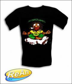 ŚMieszne Koszulki LEGALIZE 2 RASTAMAN