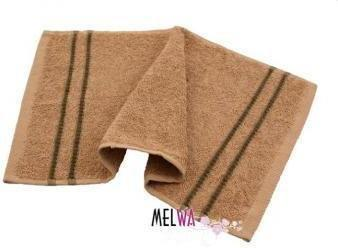 Melwa NA Ręcznik bawełniany 30x50 cm (rm beż)