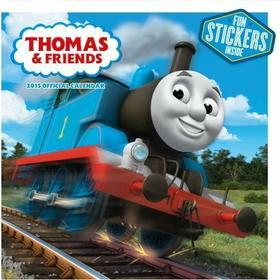 Tomek i przyjaciele - oficjalny kalendarz 2015 r. + naklejka