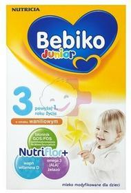 Bebiko 12x Junior 3 NutriFlor+ o smaku waniliowym 350g