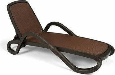 Nardi Leżak basenowy najpopularniejszy model do spa Alfa brązowy
