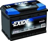 Exide Classic 50Ah 510A EC502 P+