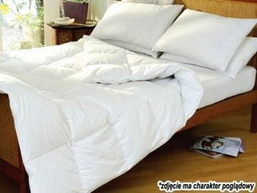 IKEA Antyalergiczna kołdra biała 200x220 cm