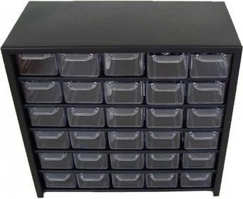 szafka metalowa z 30 szufladkami P30