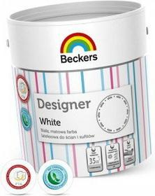 Beckers Farba lateksowa - - Designer White - 2.5L _DesignerWhite_2,5