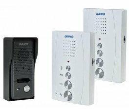 Orno Zestaw domofonowy Jednorodzinny z interkomem OR-DOM-RE-920