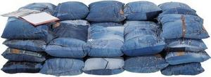 Kare Design 76352, sofa Jeans Cushions 2-Seater