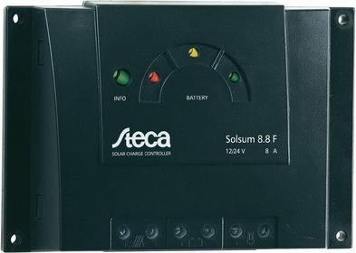 Steca Regulator ładowania systemów solarnych Solsum 8.8F 8 A
