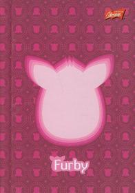 Brulion A6 Furby w kratkę 96 kartek różowy-