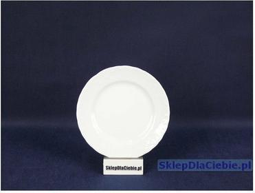 Ćmielów Talerz płytki 17 cm Rococo 001 (białe)