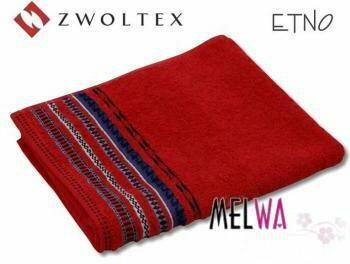 Zwoltex Ręcznik kąpielowy bawełniany ETNO 50x90 cm AZTECKI WZÓR!!! (re m cz)