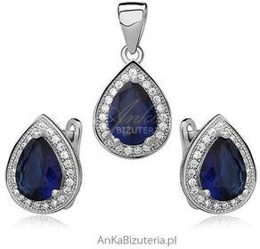 AnKa Biżuteria Komplet biżuteria srebrna Markizy