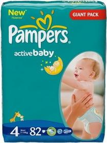 Pampers Active Baby 4 Maxi 82 szt.